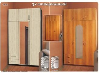 Шкаф 3-створчатый - Мебельная фабрика «Поволжье»