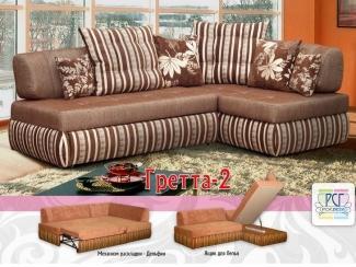 Небольшой угловой диван Гретта 2 - Мебельная фабрика «Росвега», г. Ульяновск