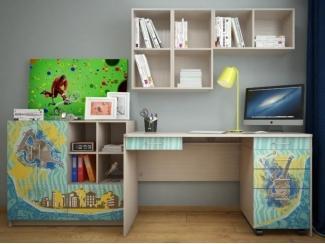 Итальянская мебель для детской Юна 5 - Мебельная фабрика «ВасКо»