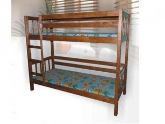 Кровать Двухъярусная - Мебельная фабрика «Лама»