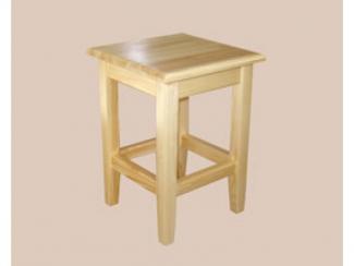 Табурет из массива - Мебельная фабрика «Мартис Ком»