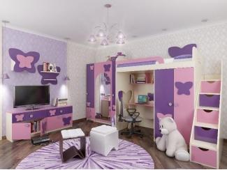 Мебель для детской Бабочка-Весна - Мебельная фабрика «ИнтерМебельДизайн»