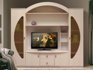 Гостиная горка 8 - Мебельная фабрика «Аджио»