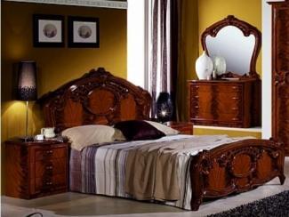 Спальный гарнитур «Ольга орех» - Оптовый мебельный склад «Дина мебель»