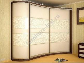Вместительный радиусный шкаф-купе  - Изготовление мебели на заказ «Игал»
