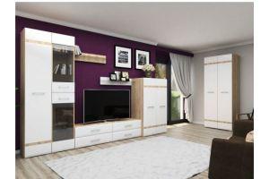 Модульная стенка в гостиную Версаль - Мебельная фабрика «РОСТ»