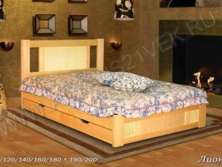 Кровать Лион 2 - Мебельная фабрика «Альянс 21 век»