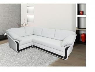 Белый угловой диван Дончанка  - Мебельная фабрика «Донской стиль»