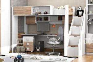 Кровать чердак Tommy Oak - Мебельная фабрика «ТомиНики»