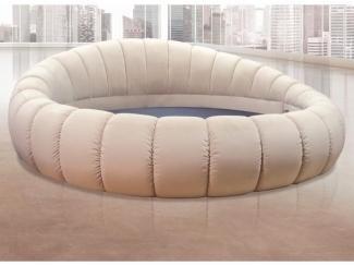 Круглая кровать Берта  - Мебельная фабрика «Мебельный Край»