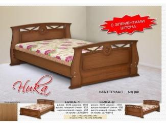 Кровать Ника - Мебельная фабрика «Бригантина»
