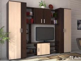Стенка прямая в гостиную №8 - Изготовление мебели на заказ «Мебель для вашего дома»