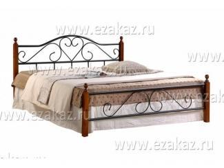 Кровать кованая AT 815  - Мебельный магазин «Тэтчер»