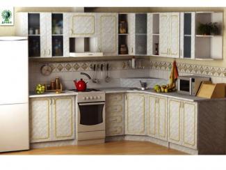 Кухня Таня золото - Мебельная фабрика «Древо»