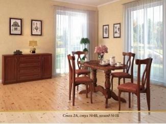 Обеденный комплект 9 - Мебельная фабрика «Верба-Мебель»