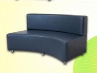 Скамья прямая со спинкой 03 - Мебельная фабрика «Евгения» г. Ульяновск