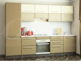Прямая кухня Латте - Мебельная фабрика «Ольга»