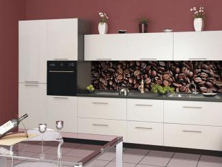 Кухонный гарнитур прямой 1 фотопечать - Мебельная фабрика «Виктория»