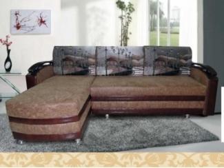 Угловой диван с фотопринтом Лара  - Мебельная фабрика «Викс»