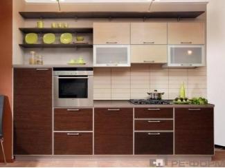 Прямая кухня Модерн 012 - Изготовление мебели на заказ «Ре-Форма»