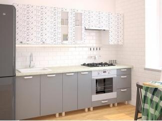 Кухня прямая Мила Арт графит - Мебельная фабрика «Центр мебели Интерлиния»