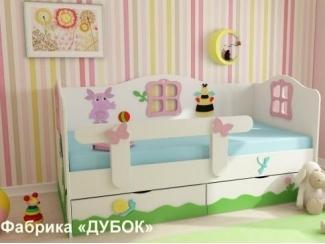 Детская кровать  Лунтик и его друзья - Мебельная фабрика «Дубок»
