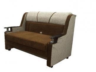 Диван-кровать  Чебурашка с деревянным подлокотником - Мебельная фабрика «Экон-мебель»