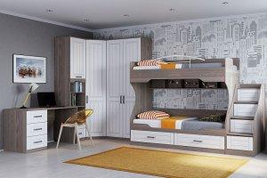 Мебель для детской Аллегро - Мебельная фабрика «РОСТ», г. Бердск