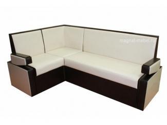 Кухонный уголок с подлокотниками Квадро 8 ДУ - Мебельная фабрика «Магнат»