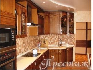 Кухня из массива дерева RENESANS - Мебельная фабрика «Престиж»