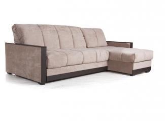 Ромео угловой диван-кровать с шезлонгом с декором - Мебельная фабрика «Ваш день» г. Кострома
