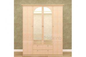 Шкаф распашной Е-209 МДФ  - Мебельная фабрика «Алтай-мебель»