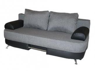 Небольшой серый диван Уют 7 - Мебельная фабрика «Валенсия»