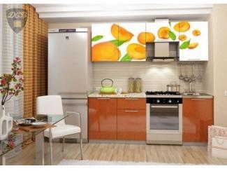 Кухня с фотопечатью Абрикос - Мебельная фабрика «ДСВ-Мебель»