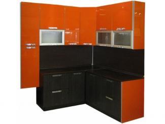Кухня угловая Оранж венге - Мебельная фабрика «Техсервис»