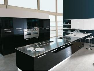 Черная кухня AMBRA - Мебельная фабрика «Европлак», г. Подольск