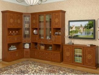 Гостиная стенка Версаль люкс - Мебельная фабрика «Европа»