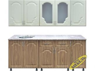 Кухня прямая 46 - Мебельная фабрика «Трио мебель»