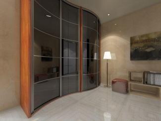 Шкаф - купе черное стекло - Изготовление мебели на заказ «Мега»