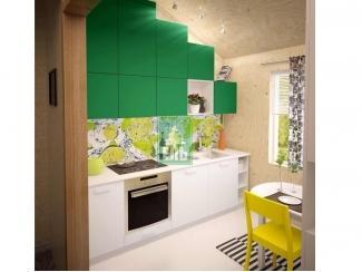 Кухня прямая Ель 5 - Мебельная фабрика «Ель кухни»