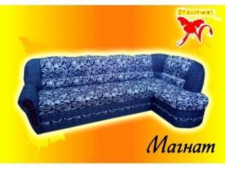 Синий диван Магнат 1 - Мебельная фабрика «Натали», г. Ульяновск