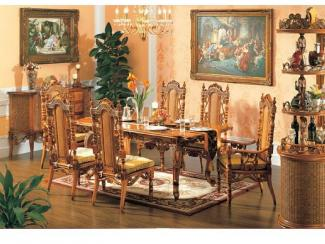 Стол, стулья мебель из ротанга