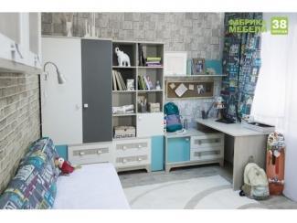Детская Индиго - Мебельная фабрика «38 попугаев»