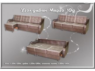 Угловой диван Марго 10 д универсальный - Мебельная фабрика «Соло»