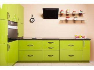 Престижная зеленая кухня Грассхоппер