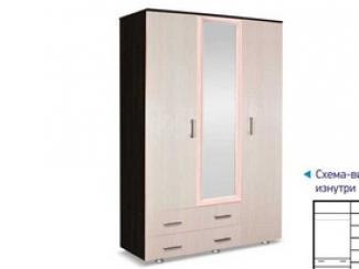 Шкаф 3х створчатый с ящиками - Мебельная фабрика «Премьер мебель»
