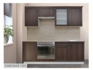 Кухня рамочная прямая - Мебельная фабрика «Боровичи-Мебель»