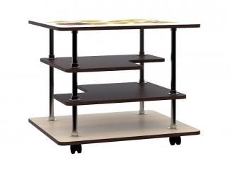 Журнальный стол с полками СЖ-6УФ - Мебельная фабрика «Ваша мебель»