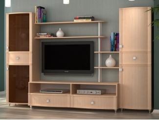Модульная гостиная под телевизор Сицилия  - Мебельная фабрика «Фран»