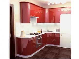 Вариант кухни Премиум 5 с фасадами МДФ эмаль - Мебельная фабрика «Аркадия-Мебель»